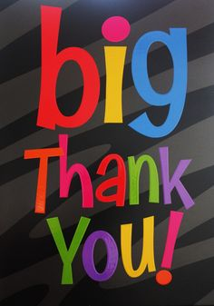 Big Thank you - for liking my fan page on facebook