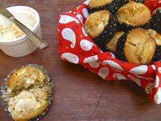 Apple Muffins with Cinnamon HoneyButter