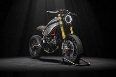 Décidément, la Ducati 1299 Panigale est une bonne base de transformation pour aboutir à une machine néo-rétro. En voici une nouvelle preuve avec cette prép