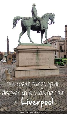 The great things you'll discover on a walking tour in Liverpool, England; from a travel blog by www.traveljunkiegirl.com