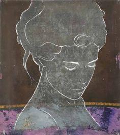 Zaza, sari door Casper Faassen - Te huur/te koop via Kunsthuizen.nl #art #painting #kunst #casperfaassen #kunsthuizen #kunsthuisamsterdam #kunsthuisleiden #kunsthuisbreda #kunstuitleen
