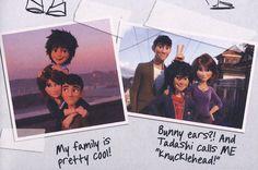 """From """"Hiro´s Journal"""" Disney Pixar, Disney Nerd, Disney Songs, Best Disney Movies, Disney Facts, Pixar Movies, Disney Memes, Disney Marvel, Disney Quotes"""