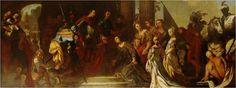 Dareova rodina před Alexandrem Velikým, Antonio Bellucci
