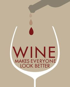 True! #wine....some people you just can,t improve, no matter how much wine you have!,,