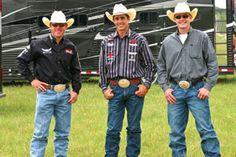 Trevor Brazile, Patrick Smith, and Tuf Cooper