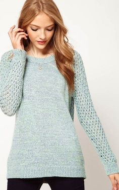 Back hollowed out Casual Sweater - $22.90 FREE SHIPPING