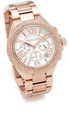 ShopStyle: Michael KorsLayton Glitz Chronograph Watch  #shopstylefavorites
