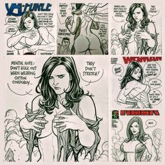 Frank Cho Collage