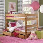 Found it at Wayfair - Twin over Twin Standard Bunk Bed with Storage