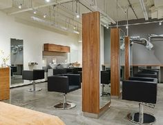 The TEN PACHI Hair Salon in Seattle, Washington » CONTEMPORIST