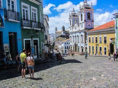 Salvador was the Portuguese empire's headquarters for reaping its bounties of sugar cane, coffee, chocolate, and later for the mining of precious metals. It's enormously rich in natural endowments. | #Brazil #travel #tourism