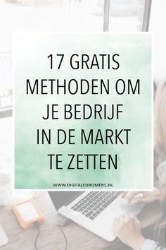 Wanneer je wilt dat je bedrijf een succes wordt, is goede marketing onmisbaar. Met deze 17 methoden kun je je bedrijf helemaal gratis in de markt zetten.