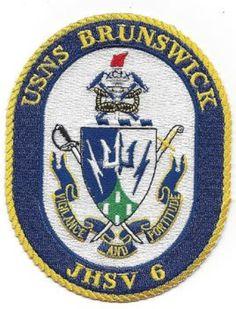 USS Brunswick JHSV-6 Patch