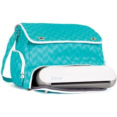 Silhouette Portrait Tote, Teal