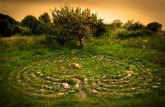 The Labyrinth at Hönö // Tryggeberg. Sweden.