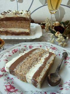 My Magic Cuisine: Torta Čarobnica Desserts With Biscuits, Sweet Desserts, Easy Desserts, Sweet Recipes, Cupcake Recipes, Baking Recipes, Cookie Recipes, Cupcake Cakes, Dessert Recipes