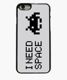 Creative Phone case I need space