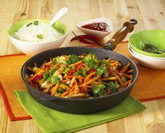 Gemüsepfanne Rezept | LECKER
