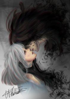 Embracing the Darkness by Arisamon.deviantart.com on @DeviantArt