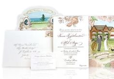 Wedding invitation #veryberryevents