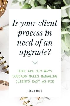 If you're struggling to keep up with all the emails, scheduling, contracts, invoicing, questionnaires, plus individual project work… it's time you start thinking about using a client management tool. Did you know that automating CMS is the perfect way to make sure your clients get everything they need without you even having to think about it? It's true! Dubsado makes streamlining your client process super easy.