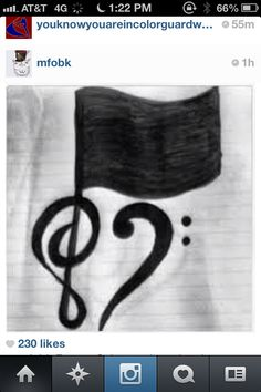 For orchestra and color guard (: