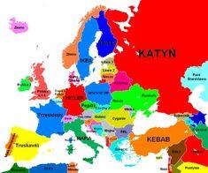 Where stories live Polish Memes, European Map, Political Memes, E Cards, Man Humor, Me On A Map, Hetalia, Mafia, Funny Memes