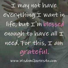 I Am Blessed!!!
