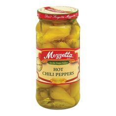 Mezzetta Hot Chili Peppers - Case Of 6 - 16 Oz.