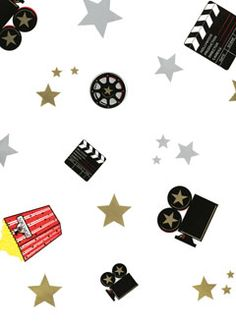 All the best of the best invitations, party supplies and decor for Hollywood Nights Movie Theme Party Celebrations. Movie Themes, Party Themes, Ideas Party, Hollywood Night, Movie Night Party, Movie Dates, Scrapbook Paper, Scrapbooking, Party Supplies