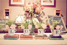 Sposata!: Xícaras e bules de porcelana - Um toque romântico em qualquer decoração