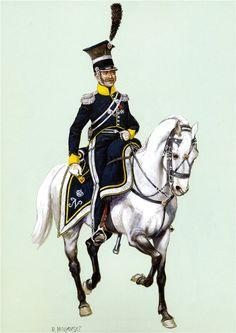 Vistula Legion - Colonel of the 7th Regiment Ignacy Ferdinand Stokovskiy 1812