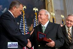 Arnold Palmer wins a Congressional Gold Medal. Global Golf Post - September 17, 2012 - Page 2