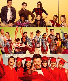 Can't believe my Glee babies are graduating... :'(
