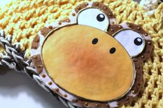 Hand Made Giraffe Hat Novelty Hat Photo Prop by MaineCoonCrafts, $32.00