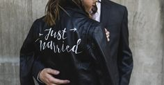 This 'Just Married' Jacket Has Created A Sisterhood Of Badass Brides