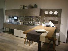 Cucine industriali: scegliere i mobili le lampade le piastrelle e