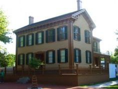 Abraham Lincoln's Home, Springfield