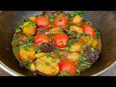 Cea Mai Bună Rețetă Cu Carne de Vită! - YouTube Best Beef Stew Recipe, Beef Recipes, Strawberry Kitchen, How To Cook Beef, Outdoor Cooking, Ratatouille, Pot Roast, Dinner Recipes, Favorite Recipes