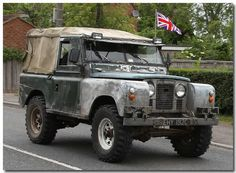 Land rover: serie 2a ex army
