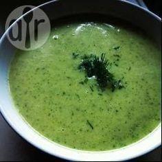 Zdjęcie do przepisu: Hiszpańska zupa-krem z cukinii