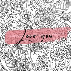 Happy Valentines! Print and color