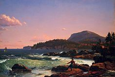 Frederick Edwin Church, Newport Mountain, Mount Desert, 1851