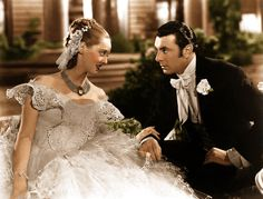 """Bette Davis and George Brent in """"Jezebel"""" Bette Davis - Best Actress Oscar 1938 Kathryn Grayson, Julie Adams, Piper Laurie, Golden Age Of Hollywood, Classic Hollywood, Old Hollywood, Vera Ellen, Dorothy Lamour, Carolyn Jones"""