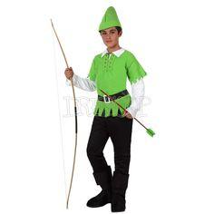 Disfraz Robin para niño - Dresoop.es