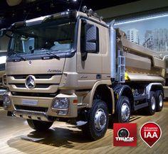 Actros chantier, le coup de coeur de Truckeditions – à Hannover City.