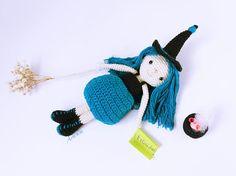 Amigurumi Witch pattern Witch crochet pattern Witch crochet