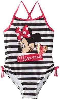 Minnie Mouse Little Girls'  1 Piece S... $12.59 #topseller