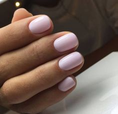 Want some ideas for wedding nail polish designs? This article is a collection of our favorite nail polish designs for your special day. Trendy Nails, Cute Nails, Classy Nails, Color Make, Light Pink Nails, Pale Pink Nails, Pink Shellac Nails, Pink Light, Black Nails