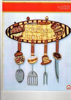 1000 images about manualidades en madera on pinterest - Pinturas para cocina ...